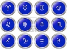 8489944-zodiac-button-collection--vector