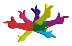 11407914-color-hands-pointing-in-different-directions-symbol